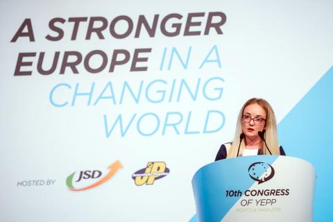 Andrea Vodanović, glavna tajnica Mladeži EPP-a