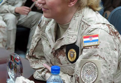 Grabar Kitarović u Afganistanu