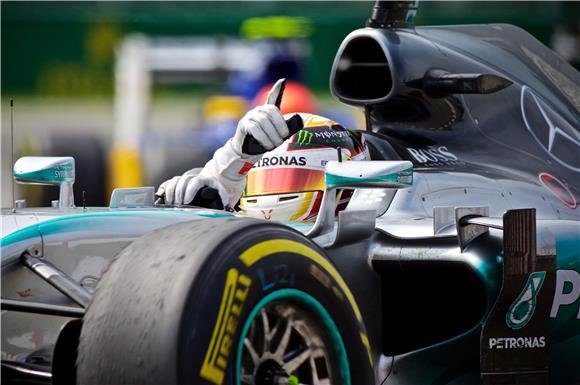 F1: Hamilton do pobjede s probušenom gumom