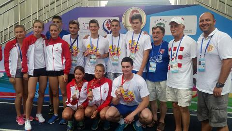 Mladi hrvatski atletičari u Kini
