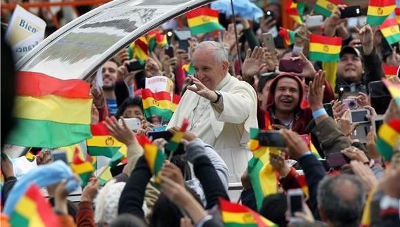 Papa Franjo u Boliviji