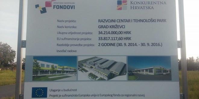 Razvojni centar i tehnološki park u Križevcima