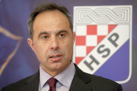 """HSP podupire ministra Hasanbegovića """"u njegovoj borbi za istinu o hrvatskoj prošlosti"""""""