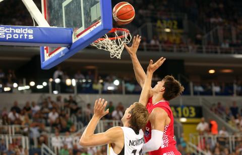 Hrvatska-Njemačka, košarka