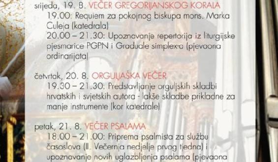Ljetna škola Varaždinske biskupije