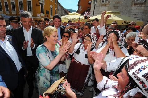 Predsjednica u Splitu