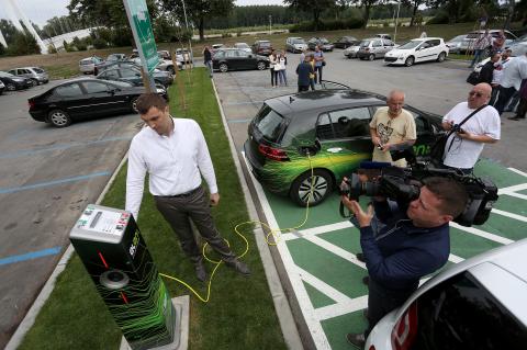 Punionica za električna vozila