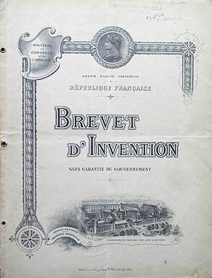 Patentno pismo za dinamo za rasvjetu