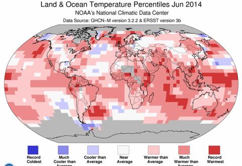 Globalno povećanje temperature