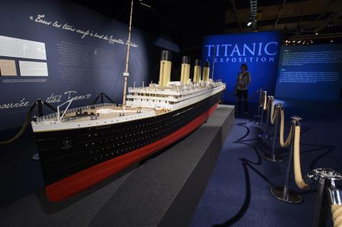 Titanic maketa