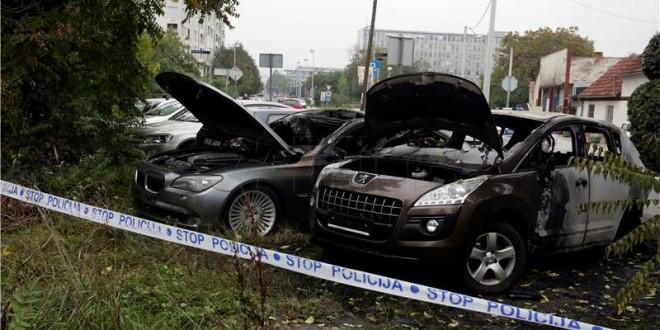 izgorjeli auti