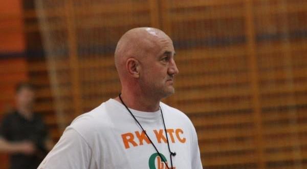 Dragutin Miklečić - trener RK KTC