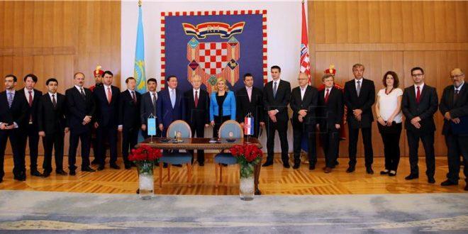 hrvatska i kazakhstan