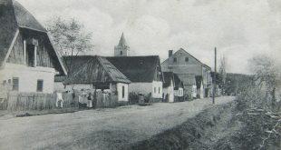 Razglednica Gornja Rijeka Gradski muzej Križevci