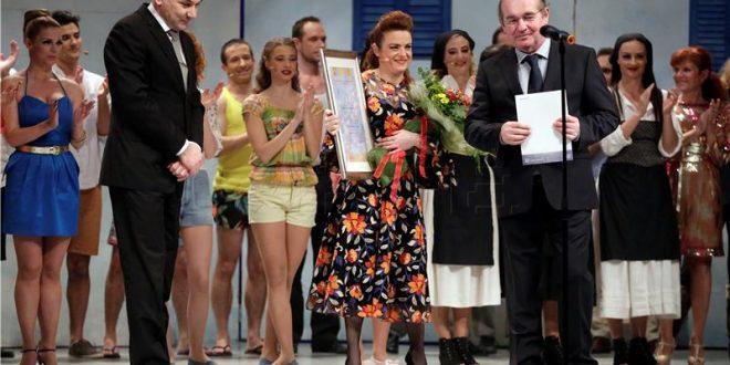Ivica Lovric, Renata Sabljak i ravnatelj Zagrebackog gradskog kazalista Komedija Niko Pavlovic