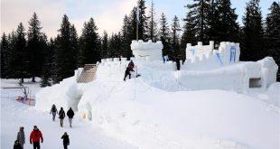 dvorac od snijega