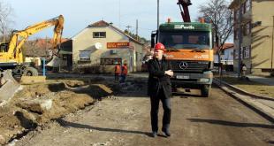 Ulica hrvatske drzavnosti u Koprivnici