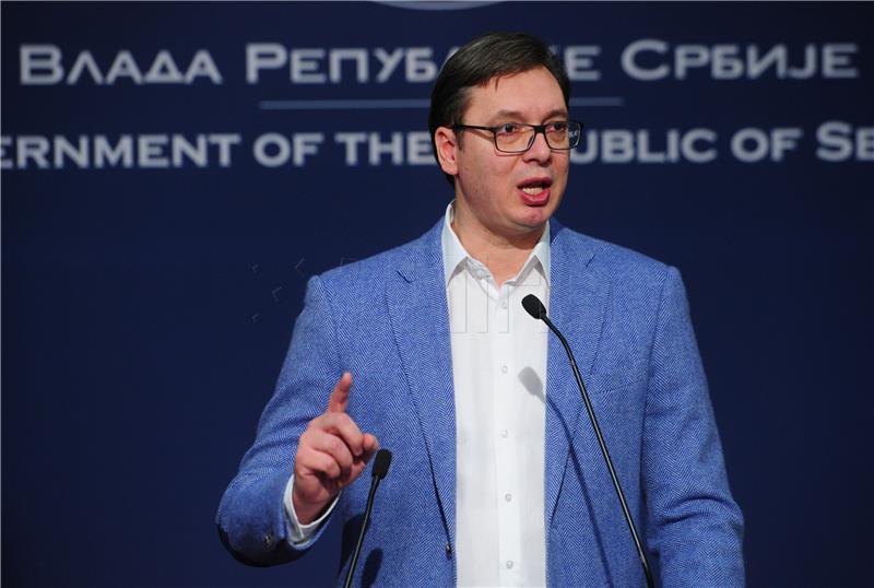 Vučić: Srbija spremna sudjelovati u razmjeni optužnica za ratne zločine s BiH
