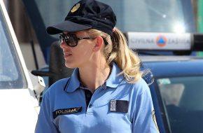 Križevačka policijska službenica