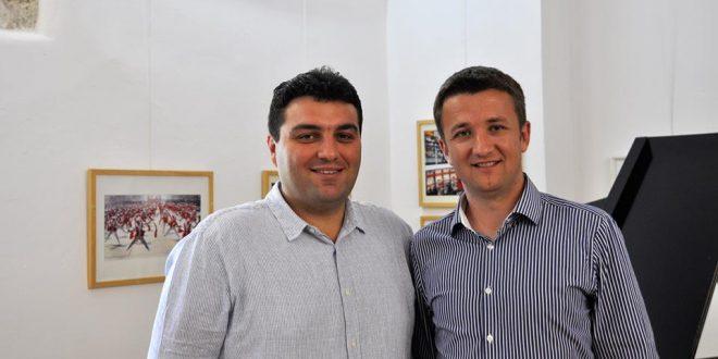Gradonačelnik Križevaca Mario Rajn i gradonačelnik Đurđevca Hrvoje Janči