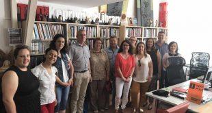 Sudionici-Erasmus-projekta-u-posjetu-Knjižnici-Fran-Galović-2