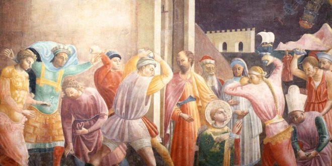 Paolo Uccello - kamenovanje Svetog Stjepana
