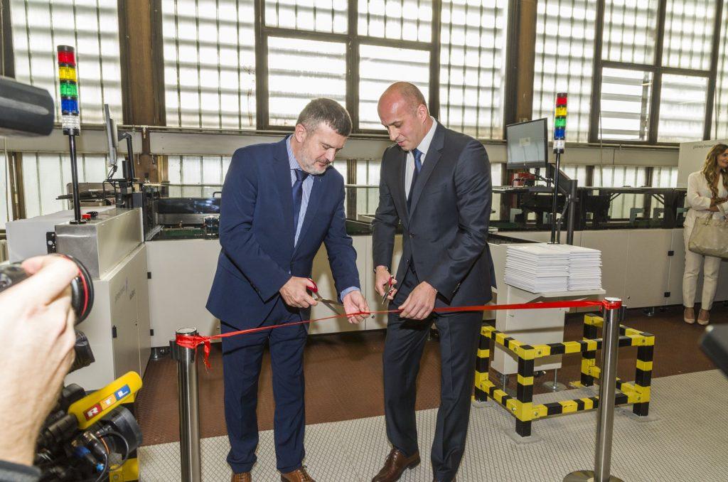 U Hrvatskoj pošti u rad svečano pušten jedan od šest novih sustava za automatsko sortiranje pošiljaka