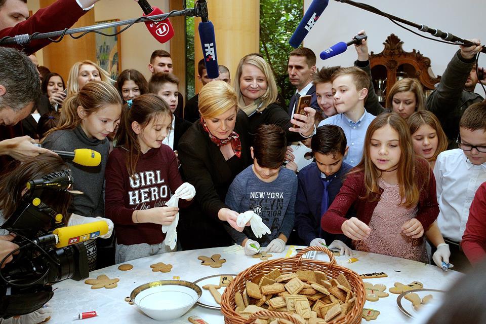 Na Pantovčaku održan Dan otvorenih vrata za Hrvate iz BiH