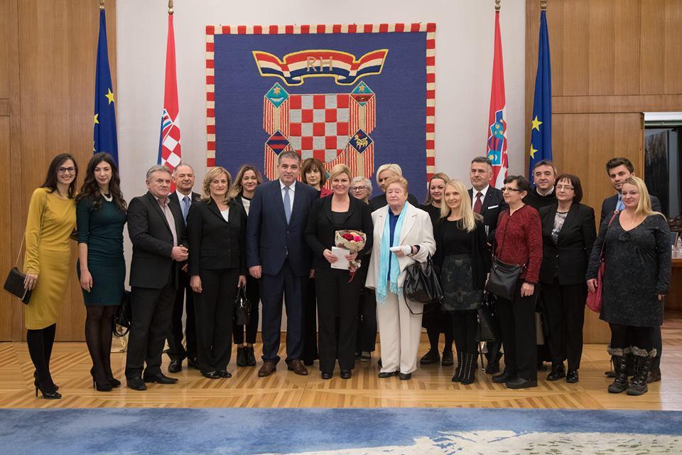 Predsjednica primila voditelje i predstavnike humanitarnih udruga i pučkih kuhinja