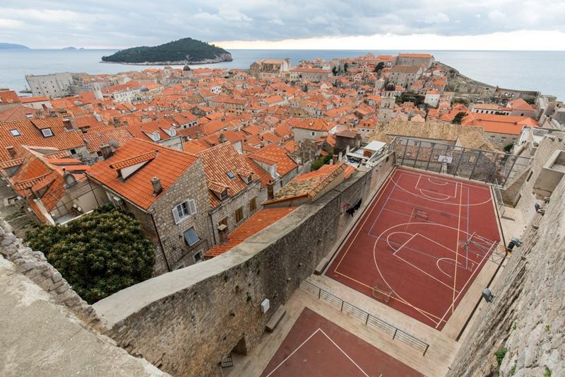 Dubrovačko košarkaško igralište uvršteno među 10 najneobičnijih na svijetu