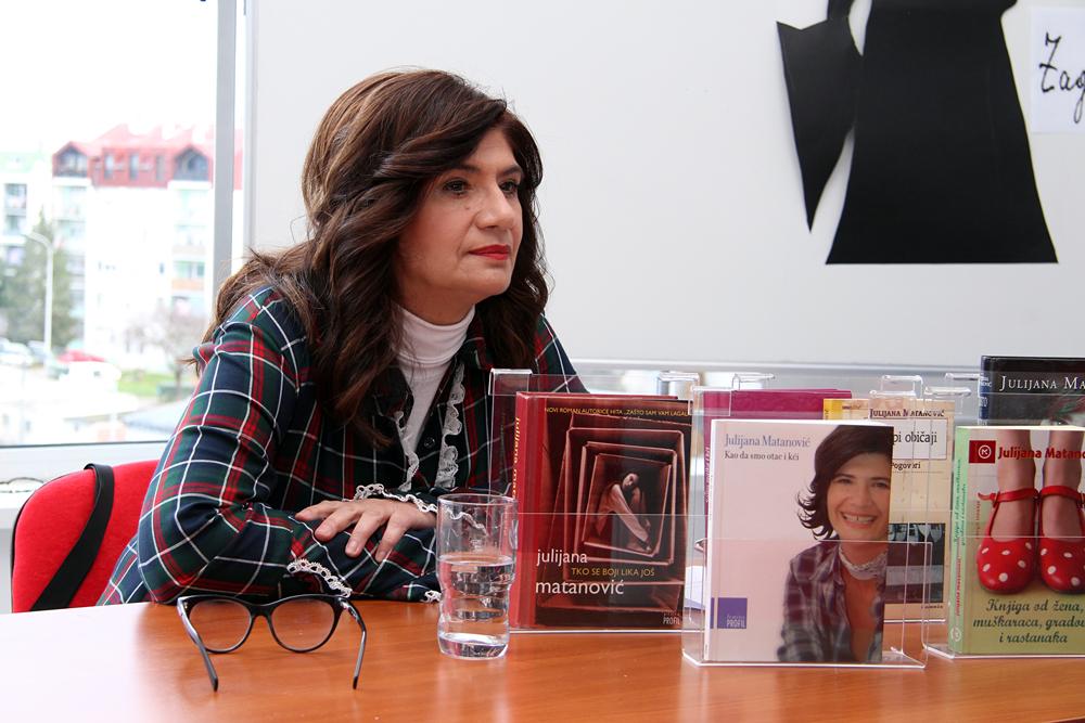 """Križevci: """"Žene u književnosti"""" s Julijanom Matanović"""
