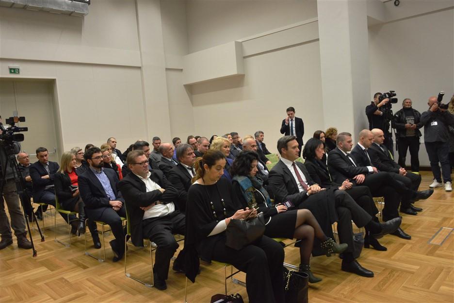 KRIŽEVCI: Predsjednica Kolinda Grabar Kitarović sastala se s poduzetnicima i obrtnicima