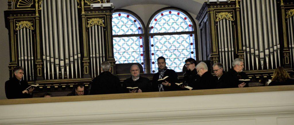 KRIŽEVCI: Svetu misu u crkvi sv. Ane pjevao austrijski zbor Schola Floriana iz Sankt Floriana