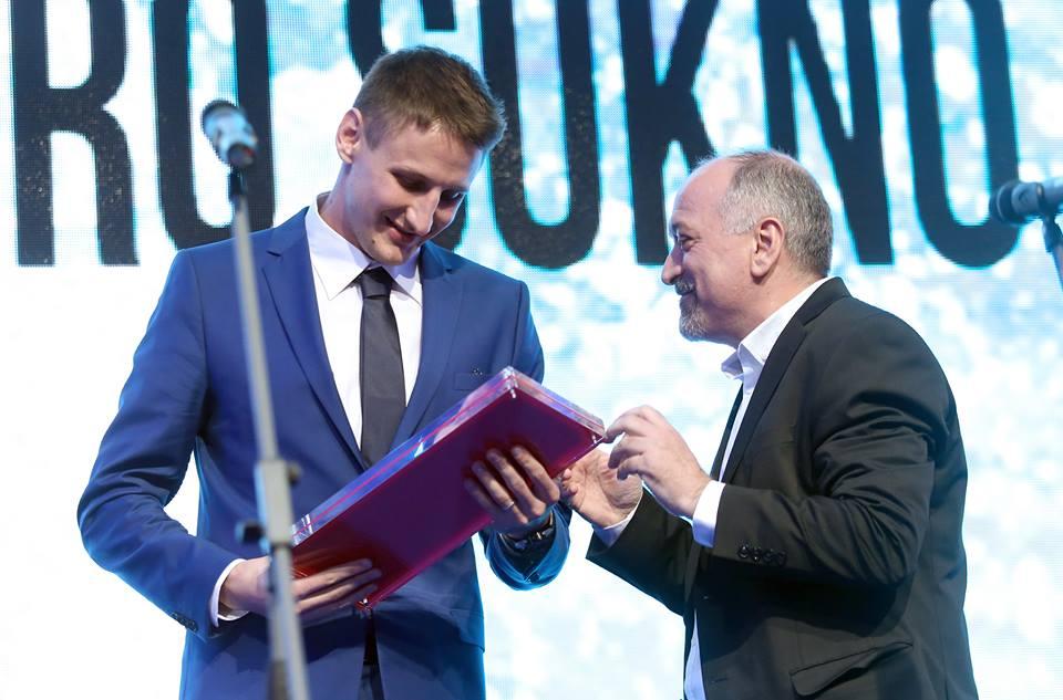 Kapetan hrvatske vaterpolo reprezentacije Sandro Sukno proglašen vaterpolistom godine