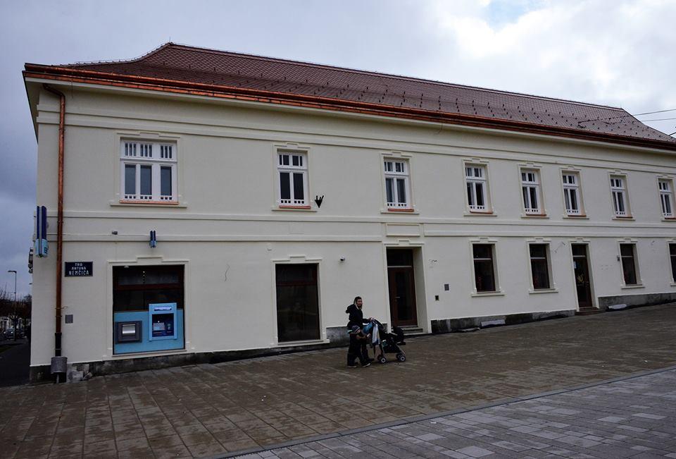 Zgrada u centru Križevaca zasjala u novom ruhu