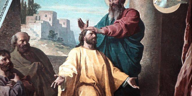 Sveti Pavao zaređuje Timoteja kao biskupa Crkve u Efezu // Foto: Ludwig Glötzle/bitno.net