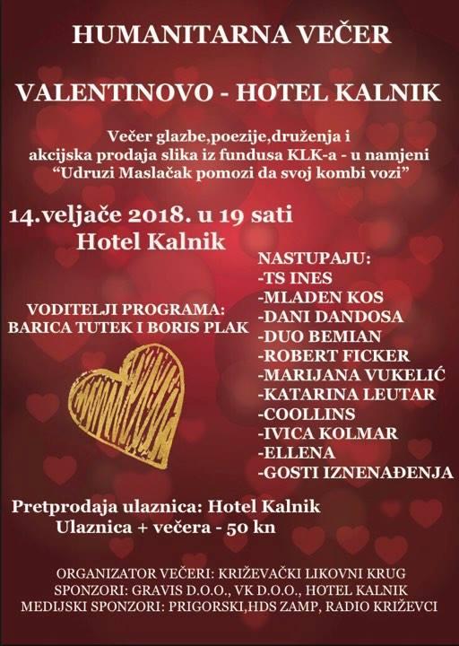valentinovo u krizevcima