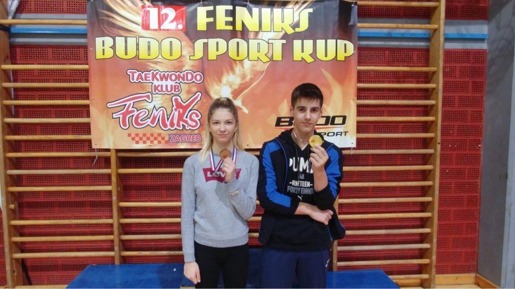 TAEKWONDO Antonio Dragašević osvojio zlato // Melanie Vrhovec brončana