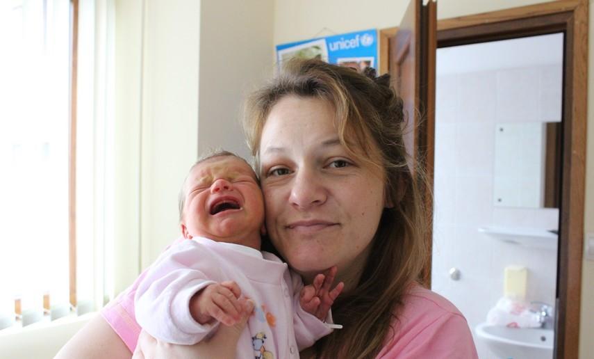 Mateja Harambaša i kći Inga
