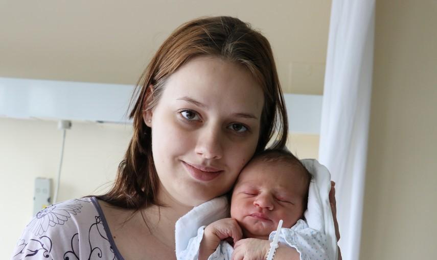 Viktorija Roštan i sin David