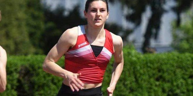 SENIORSKO PRVENSTVO BALKANA Križevačka atletičarka Ida Šimunčić pojedinačno šesta, a u štafeti osvojila 4. mjesto