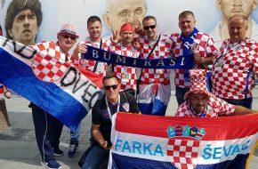 Hrvatski navijači u Novgorodu