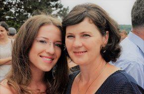Lijepa fotografija majke i kćeri