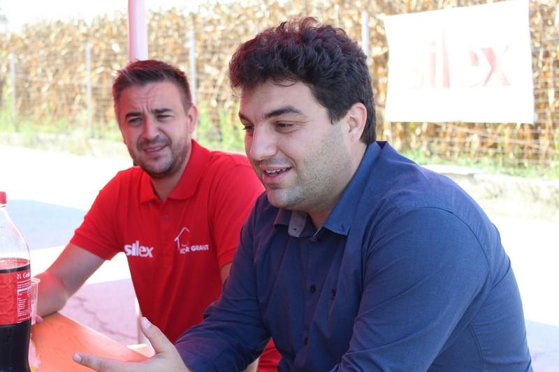 Vitomir Mijić i gradonačelnik Mario Rajn