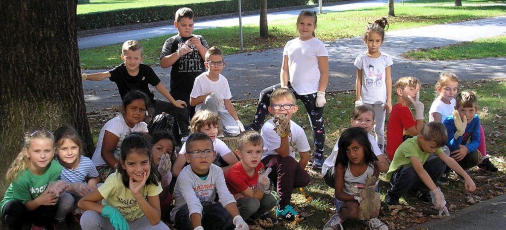 ZELENA ČISTKA Vrtićarci i osnovnoškolci sudjelovali u najvećoj akciji čišćenja okoliša