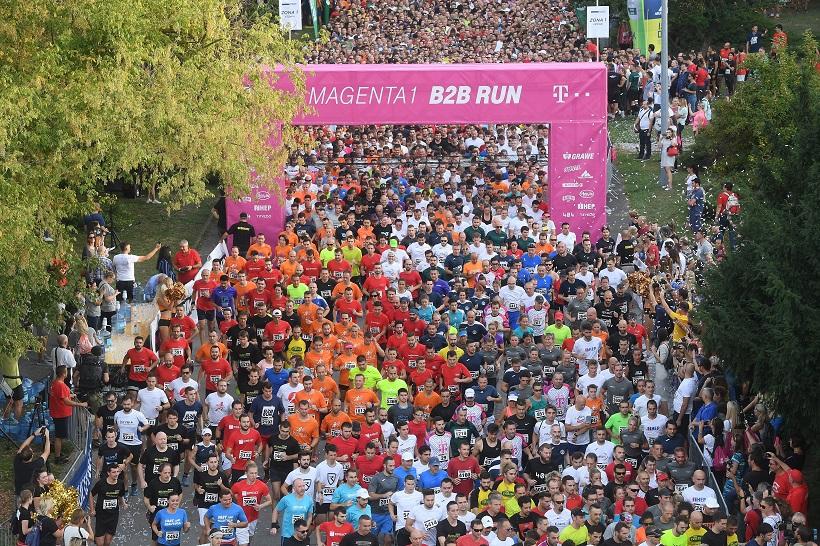 Magenta B2B Run Zagreb utrka na Zagrebačkom velesajmu