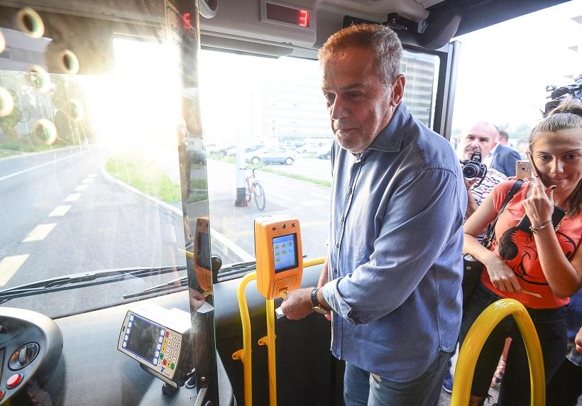 VIDEO Bandić pustio u promet novu ZET autobusnu liniju