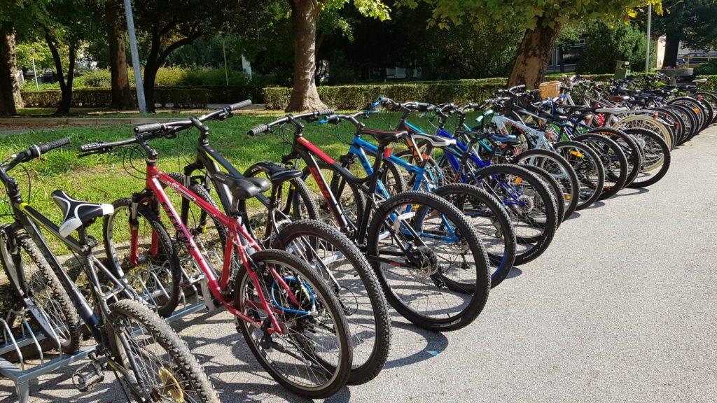 Đurđevac: Sve više učenika dolazi biciklom u školu