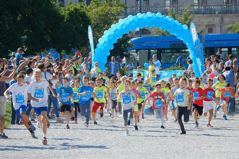 """Djeca sudjelovala u UNICEF-ovoj humanitarnoj utrci """"Mliječna staza 2018"""""""