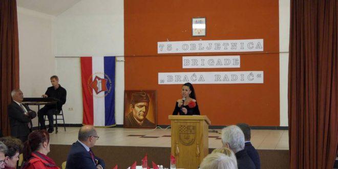 """FOTO Obilježena 75. obljetnica formiranja brigade """"Braća Radić"""""""